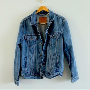 levi's premium stone wash denim jacket